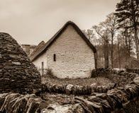 plattelandshuisje stock afbeeldingen