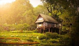 plattelandshuisje Royalty-vrije Stock Afbeeldingen