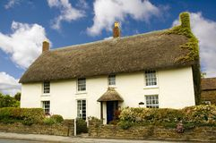 Plattelandshuisje in Dorset Stock Foto