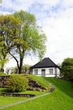 Plattelandshuisje, Noorwegen stock foto