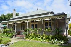 Plattelandshuisje in Port Fairy, VIC royalty-vrije stock foto's
