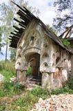 Plattelandshuisje van de priester Stock Afbeeldingen