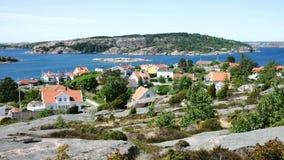Plattelandshuisje in Zweden, Scandinavië stock footage