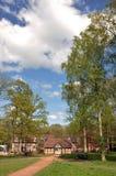 Plattelandslandschap van Herefordshire, Engeland Royalty-vrije Stock Afbeeldingen