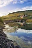 Plattelandsrivier Royalty-vrije Stock Foto