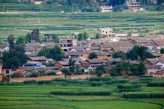 plattelandsstad van Dali Yunnan China Stock Fotografie