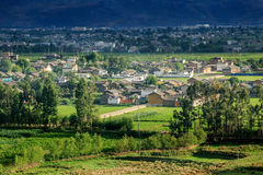 plattelandsstad van Dali Yunnan China Royalty-vrije Stock Afbeelding