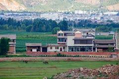 plattelandsstad van Dali Yunnan China Royalty-vrije Stock Fotografie