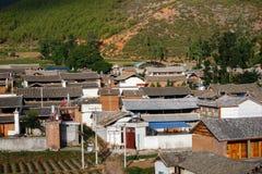 plattelandsstad van Dali Yunnan China Stock Foto