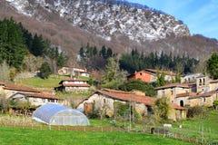 Plattelandstoerisme bij de Baskische gebieden van het Land, Spanje stock foto's
