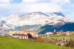 Plattelandstoerisme bij de Baskische gebieden van het Land, Spanje royalty-vrije stock afbeelding