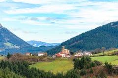 Plattelandstoerisme bij de Baskische gebieden van het Land, Spanje royalty-vrije stock fotografie