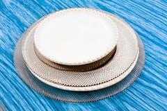 Platten stockbilder