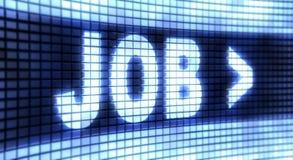 Platten-Job Lizenzfreie Stockbilder