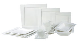 Platten und Teller Lizenzfreie Stockbilder
