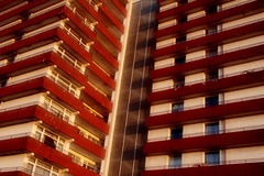 Plattenbau Apartment Block Royalty Free Stock Photography