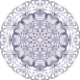 Plattenblauverzierung Stockbild