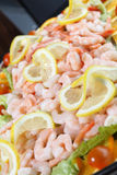 platter γαρίδες Στοκ φωτογραφία με δικαίωμα ελεύθερης χρήσης