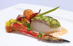 platter θαλασσινά Στοκ Φωτογραφία