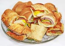 platter σάντουιτς στοκ εικόνες με δικαίωμα ελεύθερης χρήσης
