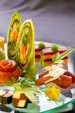 platter σούσια Στοκ Φωτογραφίες