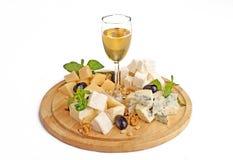 Platter τυριών Στοκ Εικόνες