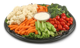 platter χορτοφάγο στοκ φωτογραφία