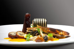 platter ψαριών βακαλάων στοκ εικόνα με δικαίωμα ελεύθερης χρήσης