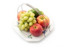 Platter of assorted fruit Stock Photos