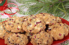 Platter of Cookies Stock Images