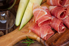 Platter of ham Stock Images