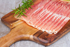 Platter of ham Royalty Free Stock Photo