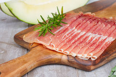 Platter of ham Stock Photos