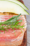 Platter of ham Royalty Free Stock Images
