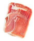 Platter of ham Stock Photography