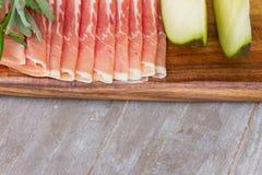 Platter of ham Royalty Free Stock Photography