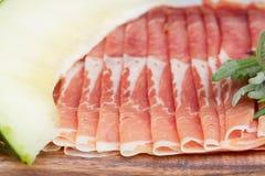 Platter of ham Royalty Free Stock Photo