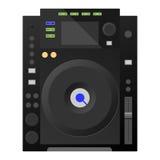 Plattform Digital DJ, Mischer Vektor Lizenzfreies Stockbild
