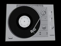 Plattform DJ Stockfoto