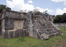 Plattform Eagless und des Jaquars, Chichen Itza Stockfotos