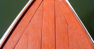 Plattform eines siamesischen Ausflugbootes Stockbild