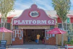 Plattform 62, en vägstall i Ashton Royaltyfri Fotografi