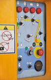 plattform för konstruktionskontrollutrustning Royaltyfri Foto