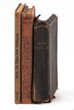 Plattform för tre gammala böcker Royaltyfria Foton
