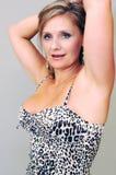 plattform kvinnabarn Royaltyfria Bilder