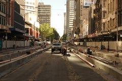 Plattform på den Elizabeth gatan Royaltyfri Fotografi