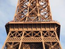 Plattform und Besucher des Eiffelturm-zweite Stockbild