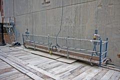 plattformsscaffold Royaltyfri Foto