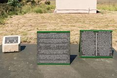 Plattor på Retiefklip, Kerkenberg Arkivbild