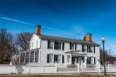 Kent-Delord House - Plattsburgh, New York Stock Images